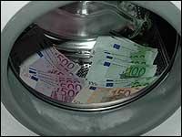 Energie und Strom sparen beim Waschen der Wäsche