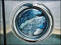 Energie und Strom sparen mit einer vollen Waschmaschine