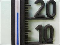 Nachts Energiesparen durch niedrigere Temperaturen.