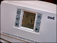 Energie und Wasser sparen durch elektronisch gesteuerte Durchlauferhitzer.