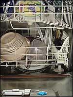 Energie und Wasser sparen beim Geschirrspüler.